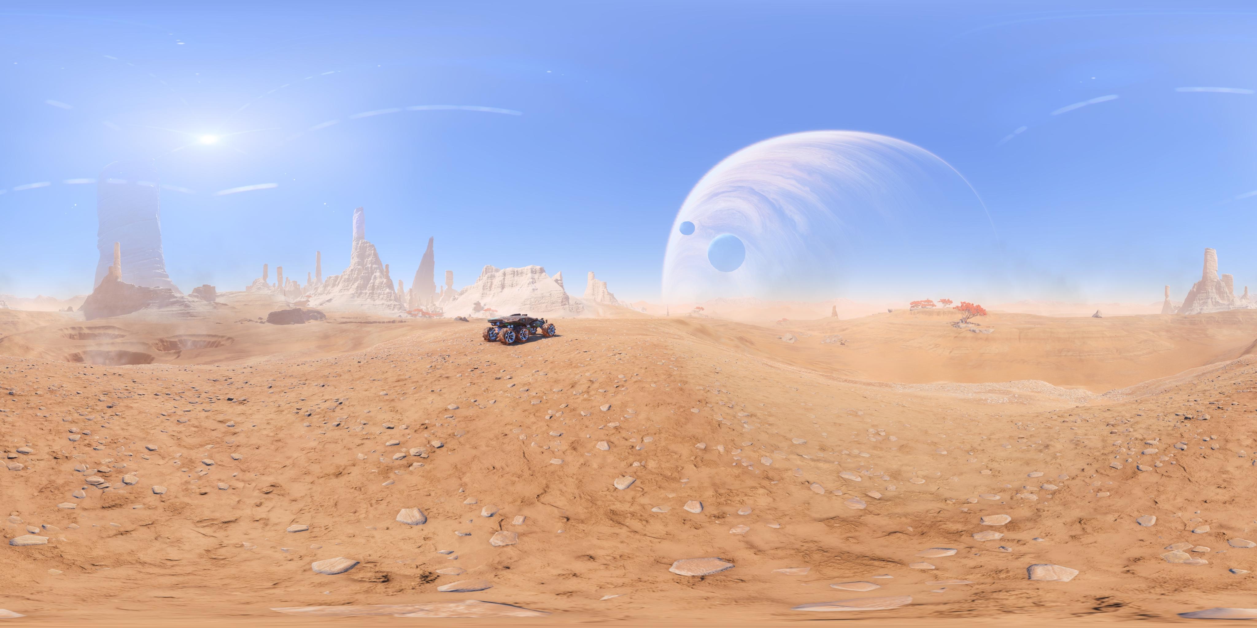 панорама - Mass Effect: Andromeda Кочевник ND1