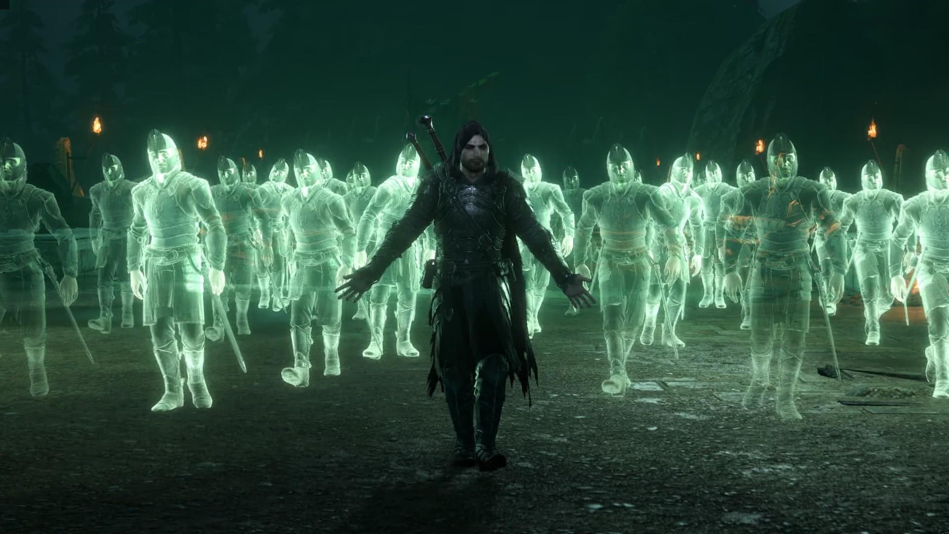 Тёмный следопыт - Middle-earth: Shadow of War Армия, Талион