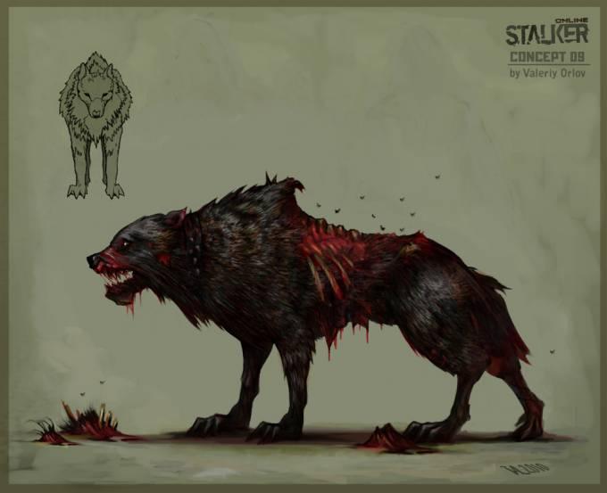 Каким должен был быть слепой пёс в сталкер 2 - S.T.A.L.K.E.R. 2 Слепой Пёс.Сталкер 2