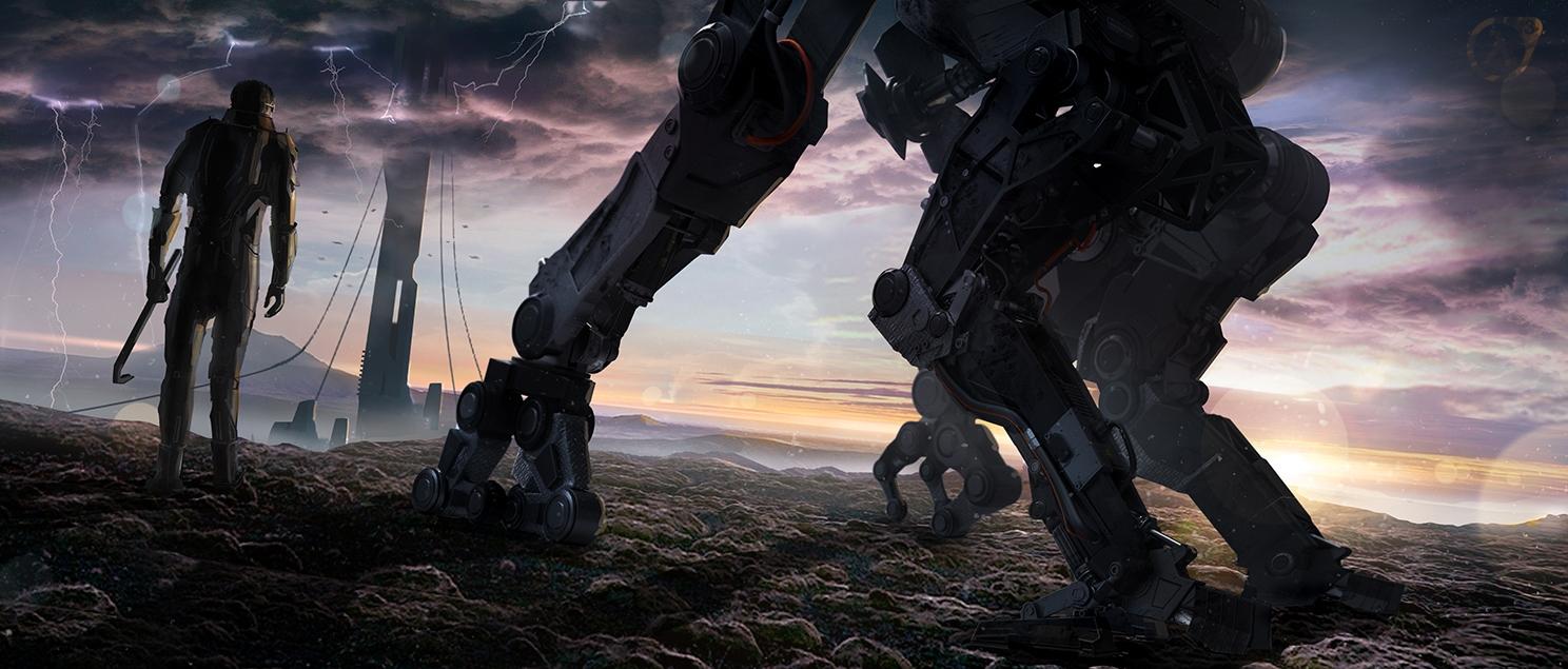 Длинное путешествие! - Half-Life 2 Альянс, Гордон Фримен, монтировка, персонаж, Пёс, робот, цитадель
