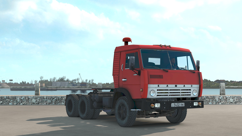 КАМАЗ 5410 - Euro Truck Simulator 2 5410, Камаз