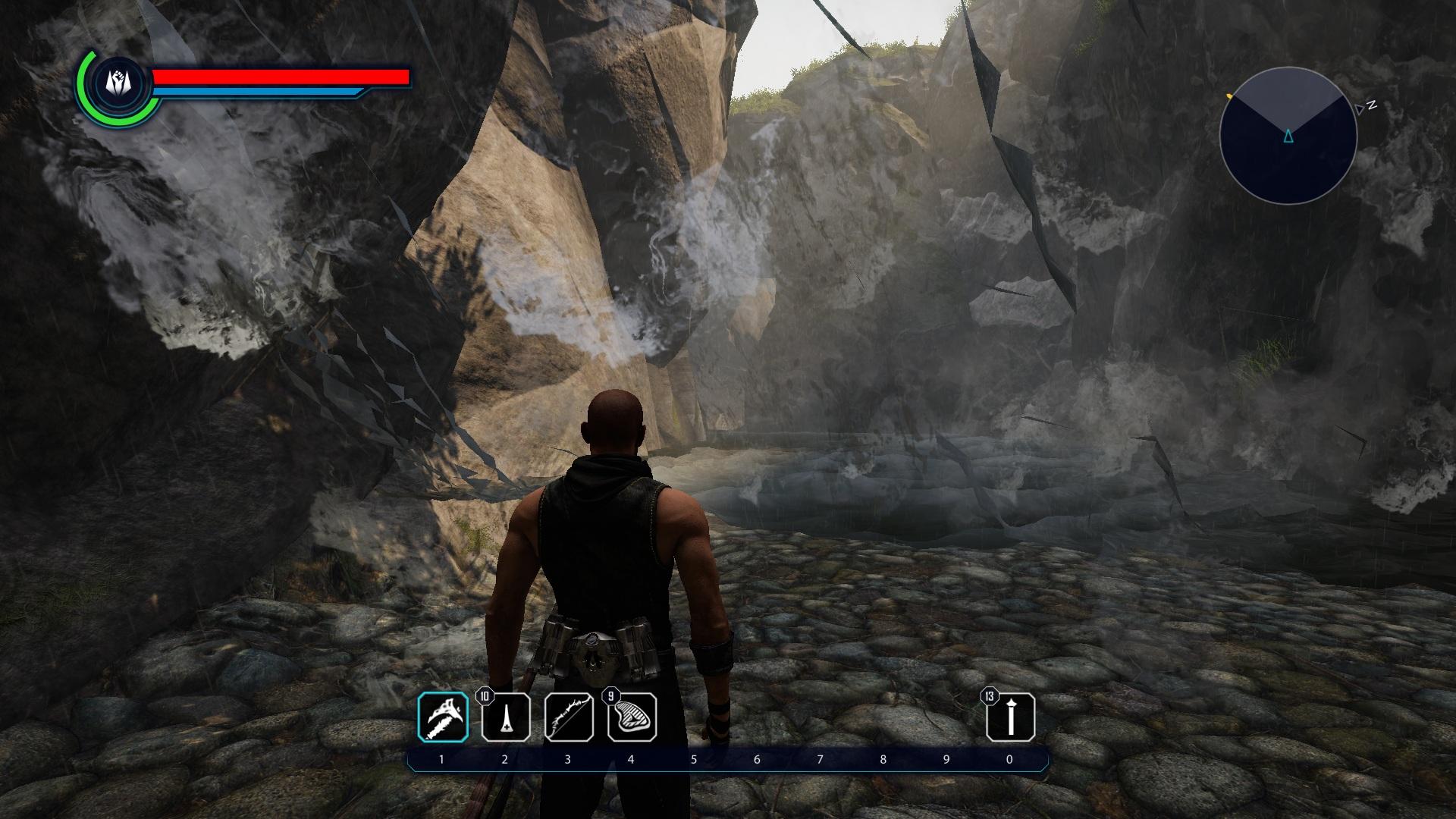 водопад - Elex баг