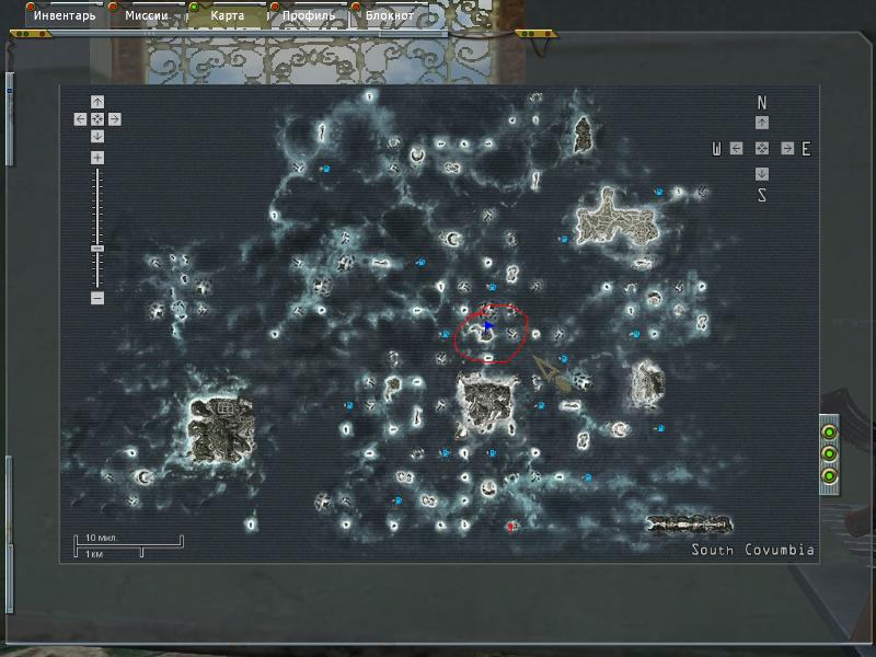 map - White Gold: War in Paradise