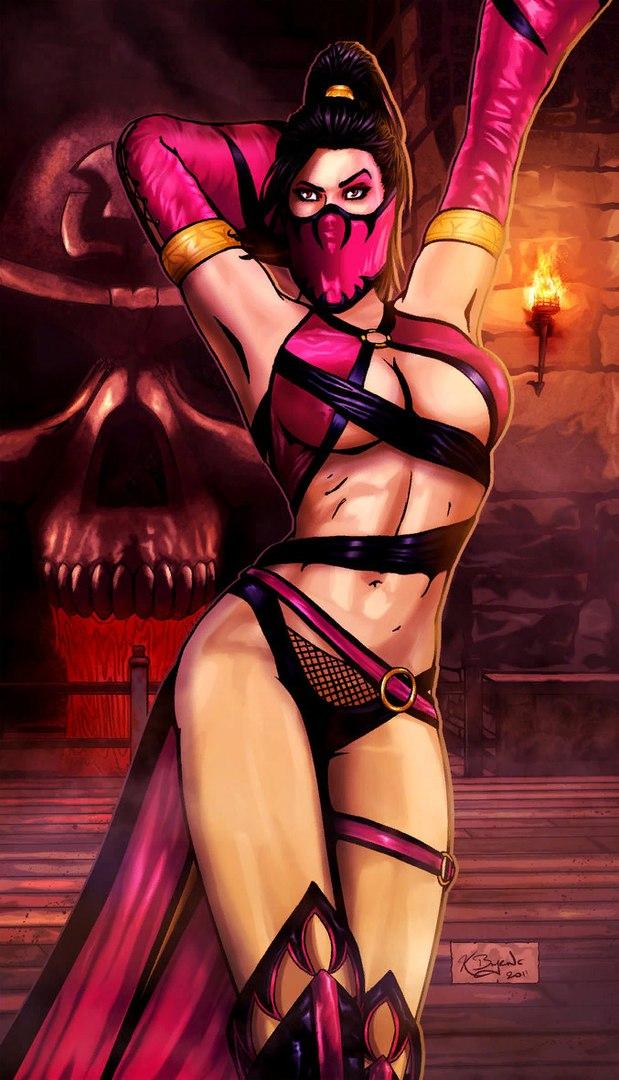 3DNjPyL1GLE.jpg - Mortal Kombat X Meleena, Арт