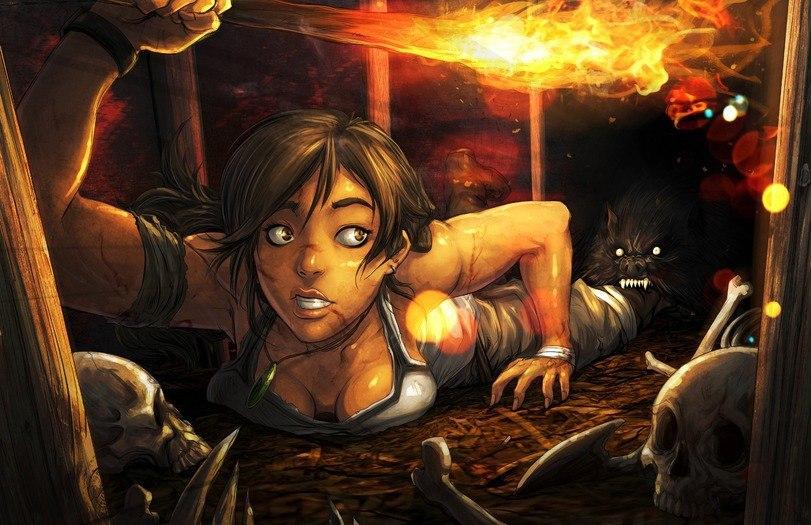 CwL-Yju5GfI.jpg - Tomb Raider (2013) Арт