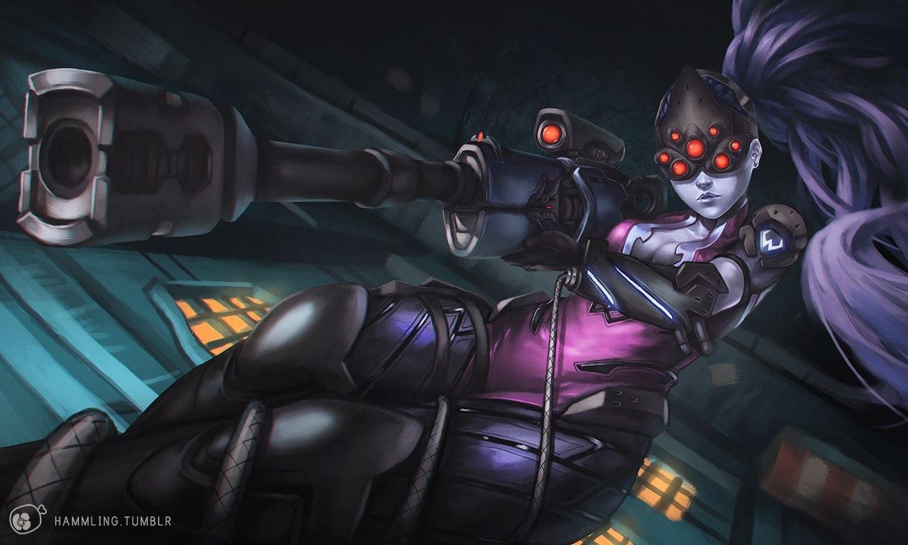 oTGLyA1n0ug.jpg - Overwatch Fatal Widow, Арт