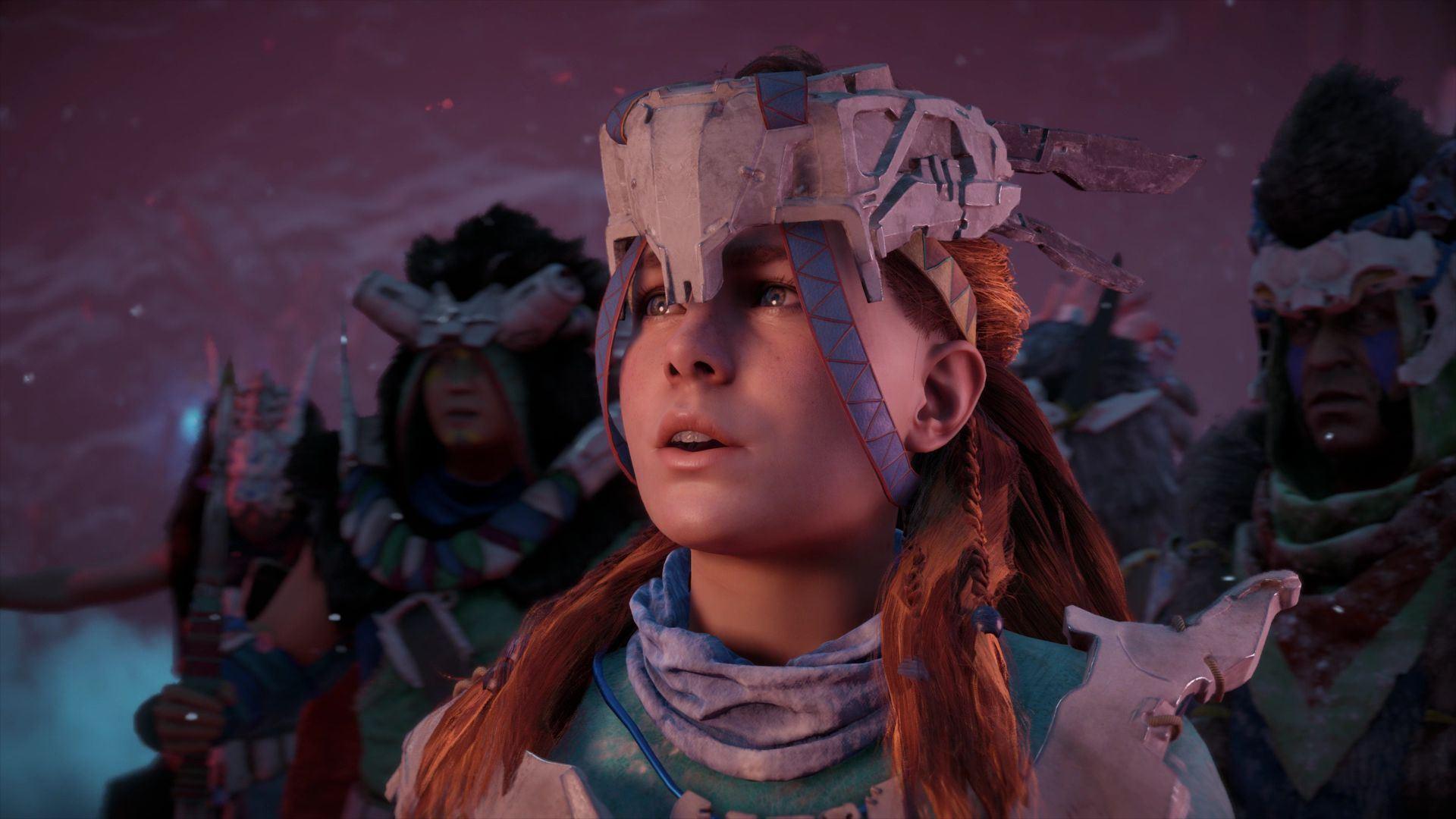 Horizon Zero Dawn: The Frozen Wilds - Horizon: Zero Dawn DLC, Скриншот