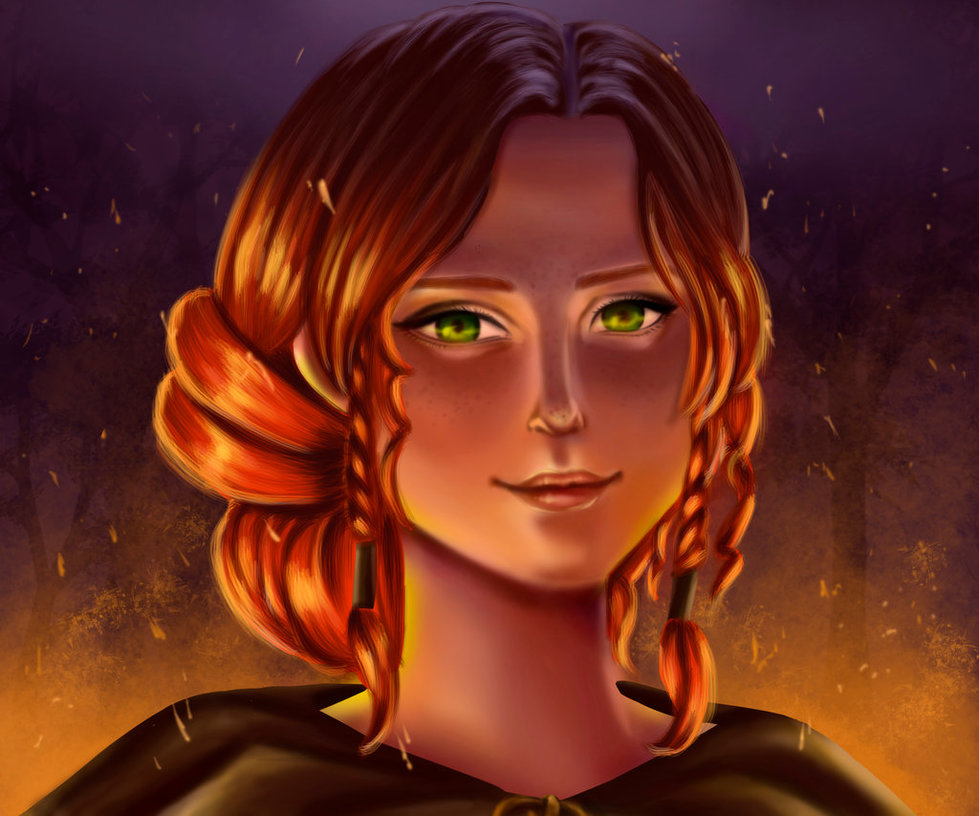 triss_merigold_portrait_by_kktty-d92o865.jpg - Witcher 3: Wild Hunt, the