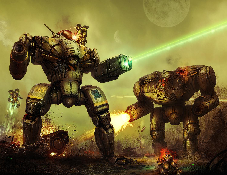 Art - BattleTech Арт, мех