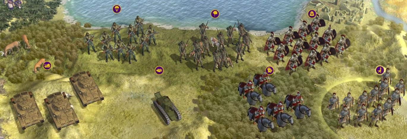 Новые скины для Civ5 - Sid Meier's Civilization 5 Civilization 5, юниты