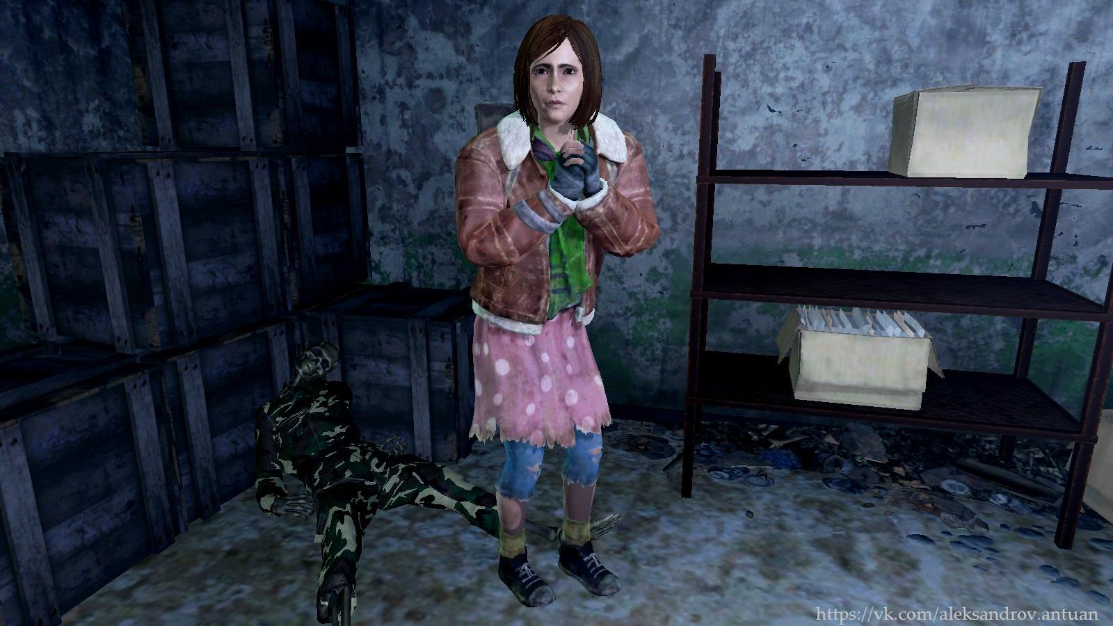 - Пощадите, добрый сеньор !.. - Fallout 4 Orphans of the Commonwealth, одежда Нат, Оливия, сирота, сироты Содружества