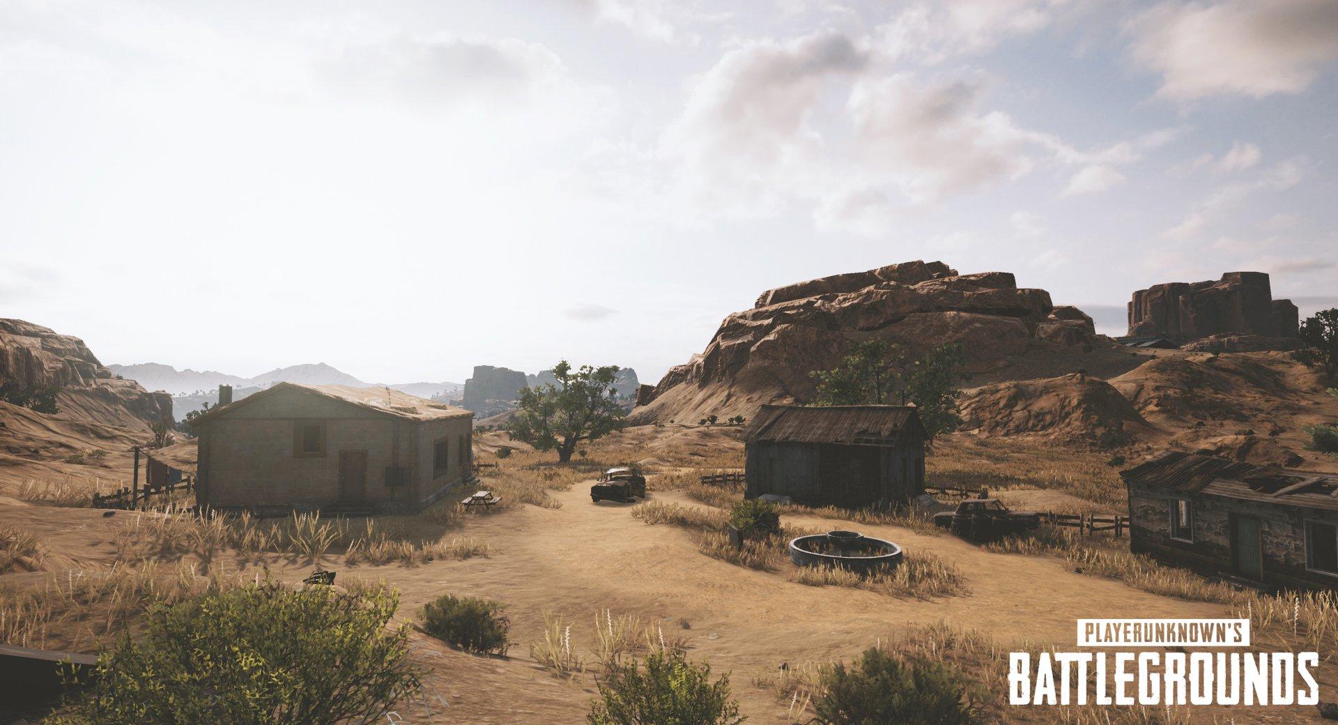 PlayerUnknown's Battlegrounds - пустынная карта - PlayerUnknown's Battlegrounds Скриншот