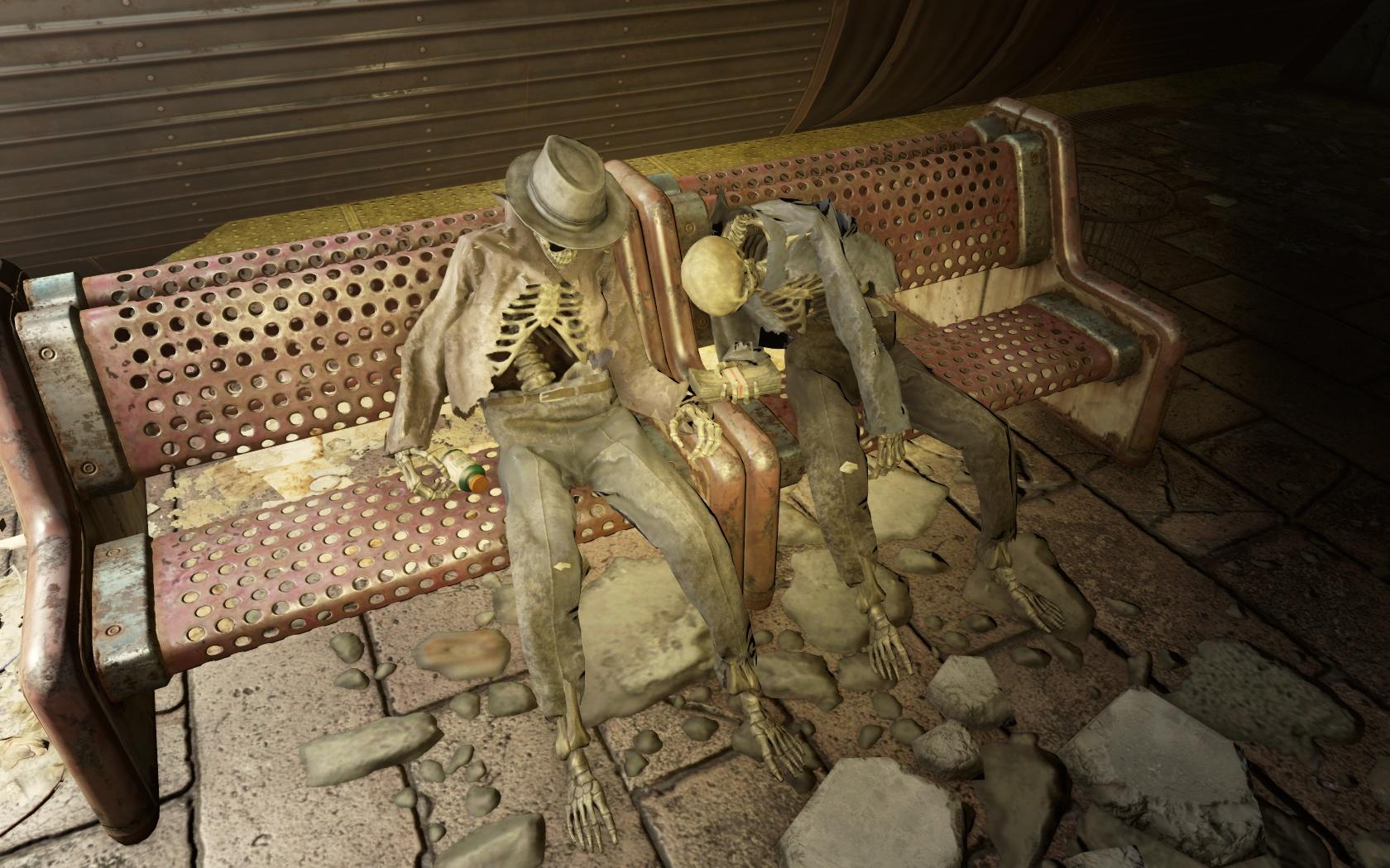 Глюконавт за деньги (Станция Уэст-Роксбери) - Fallout 4 Глюконавт, деньги, Станция, Станция Уэст-Роксбери, Уэст-Роксбери