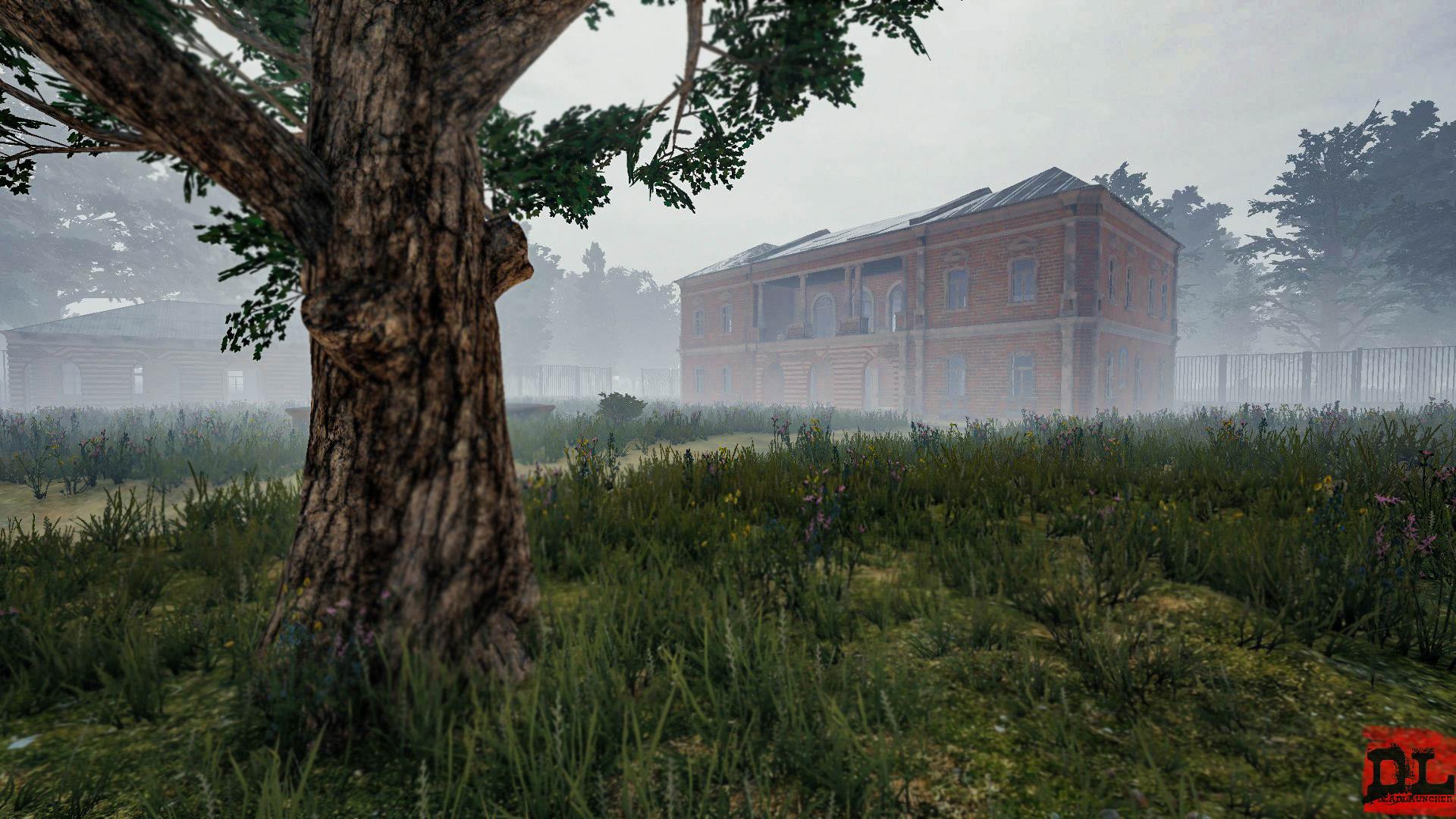 Особняк в тумане - PlayerUnknown's Battlegrounds Туман