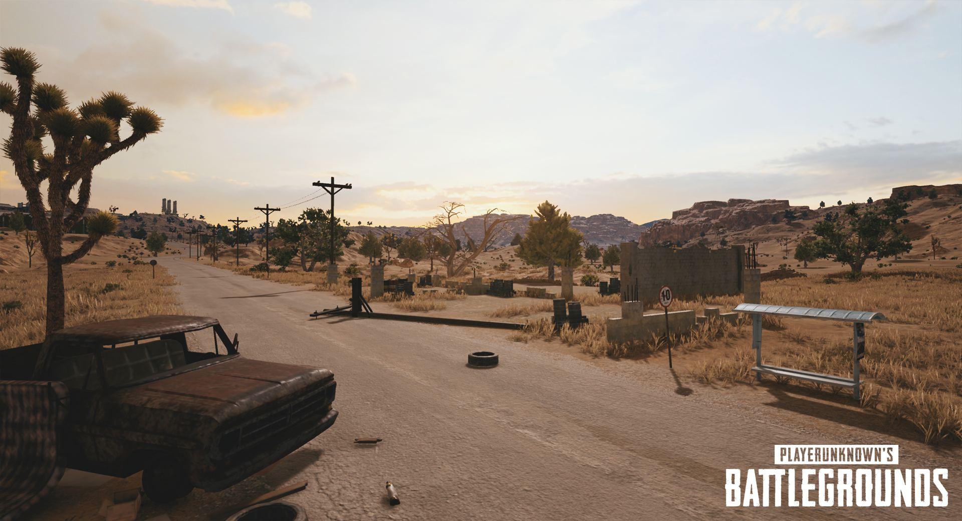 PlayerUnknown's Battlegrounds - пустынная карта - PlayerUnknown's Battlegrounds Арт