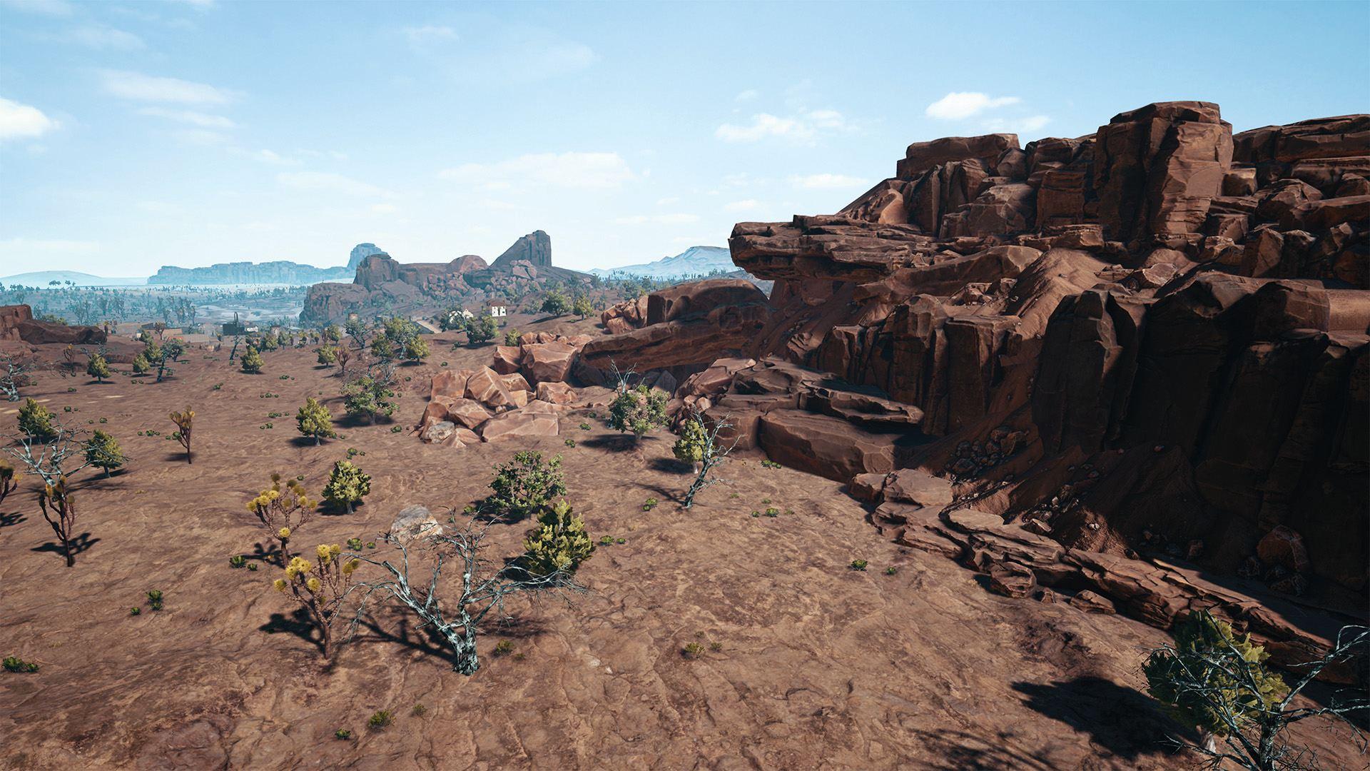 PlayerUnknown's Battlegrounds - пустынная карта - PlayerUnknown's Battlegrounds