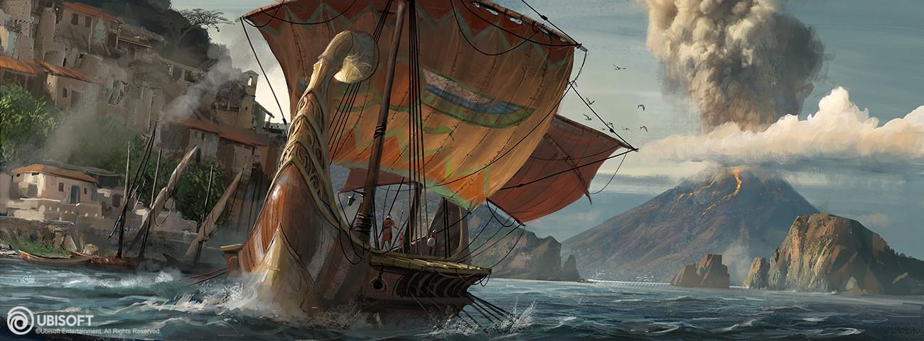 Ранние концепт-арты Assassin's Creed: Origins - Assassin's Creed: Origins Арт, Концепт
