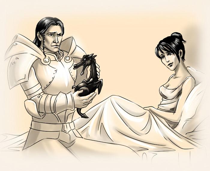 Дважды отец - Dragon Age: Origins