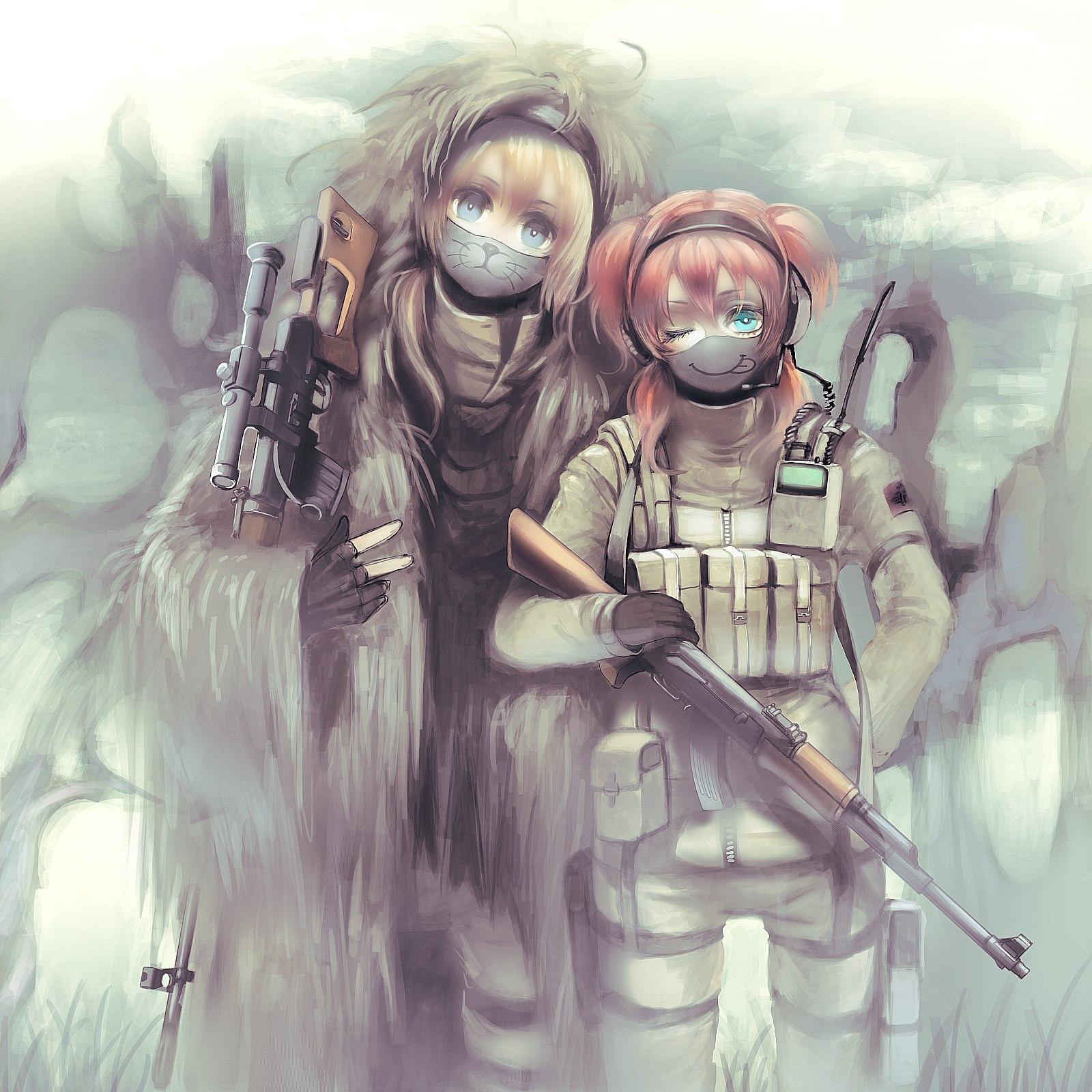 Military art - - Аниме, арт