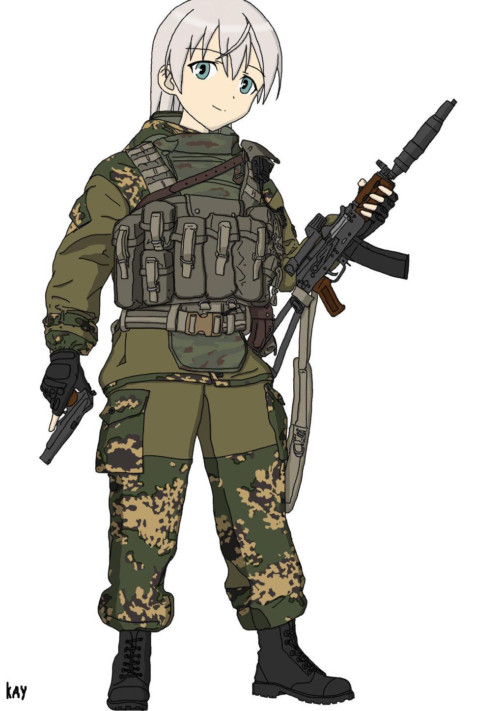 Спецназ - - Аниме, арт, гру, Россия