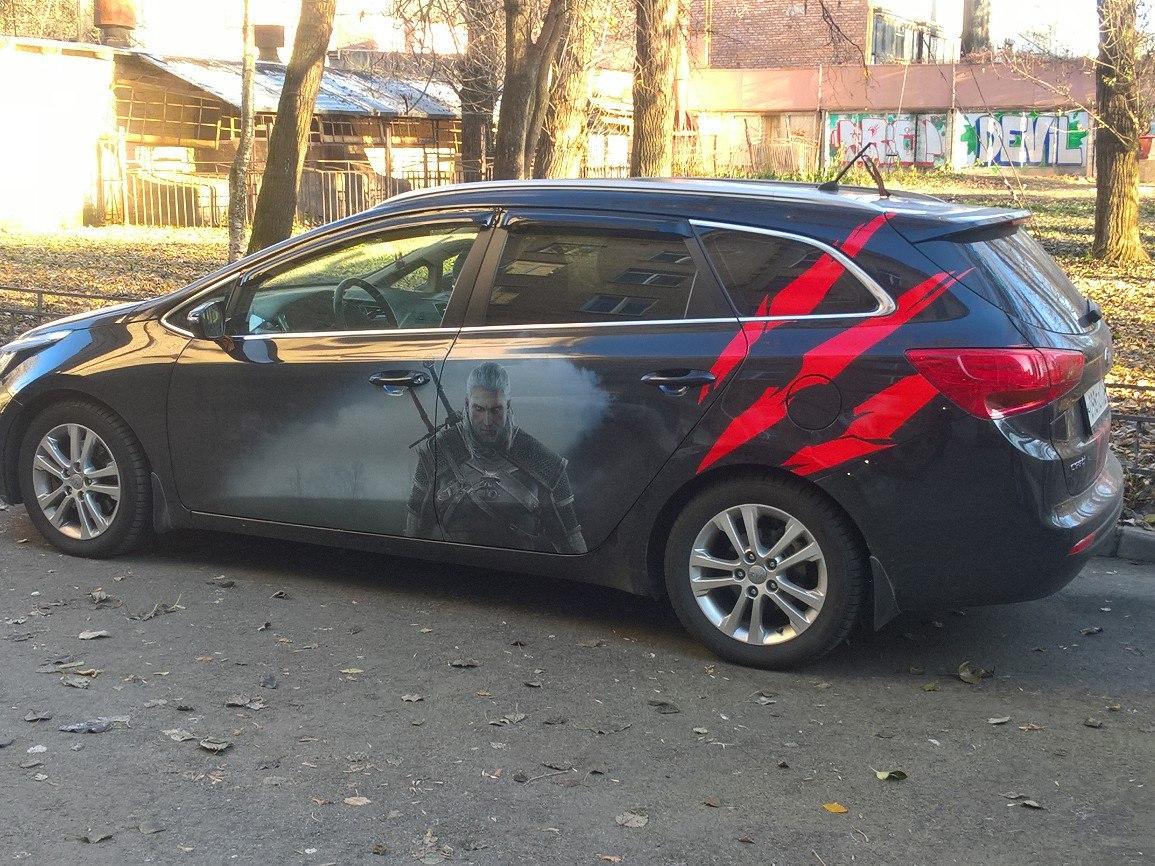 Ведьмачий авто - Witcher 3: Wild Hunt, the Witcher 3 автомобиль, авто в Witcher 3, атомобиль, Ведьмачий, Ведьмачий авто, Транспорт