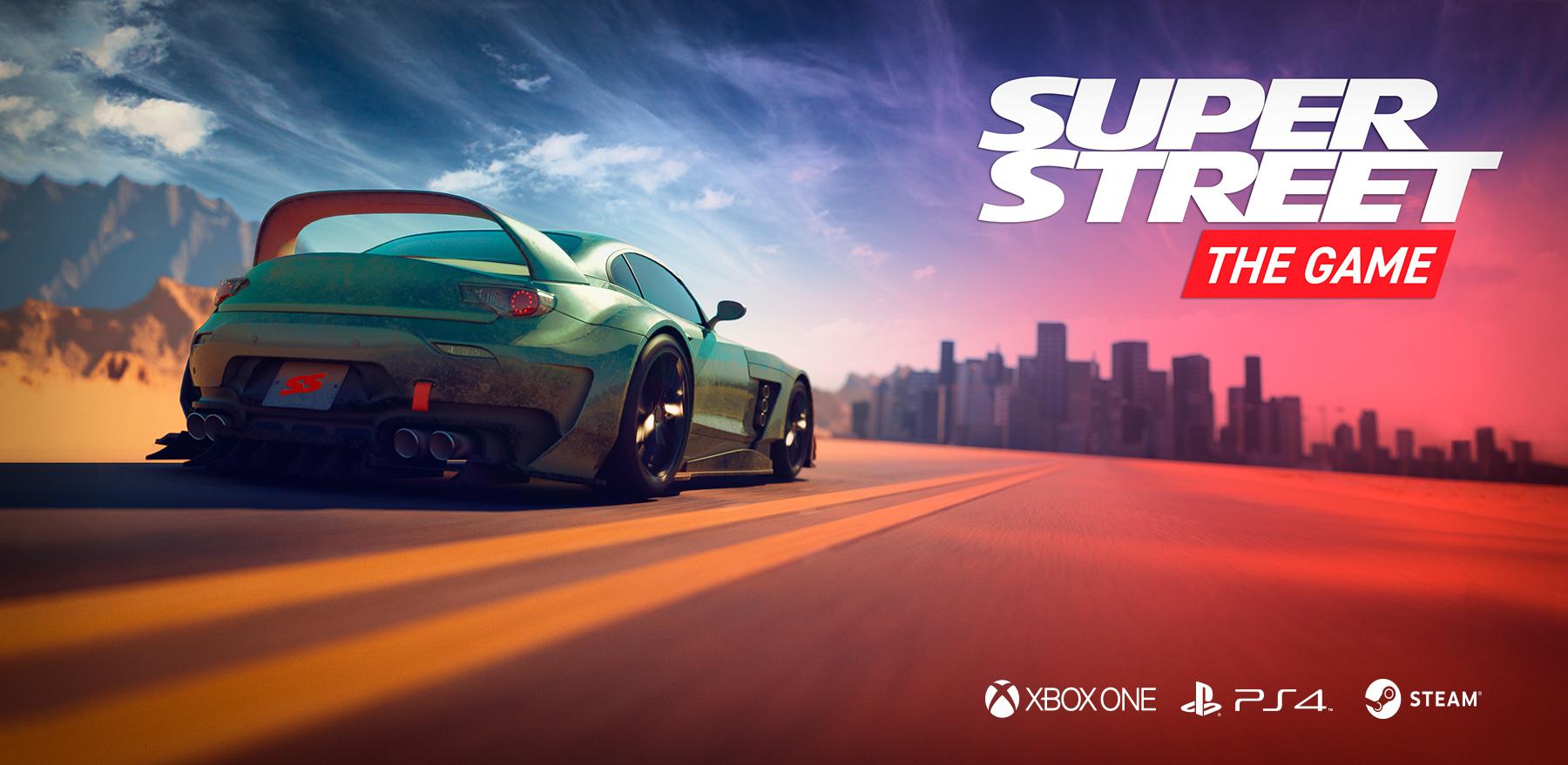 Super Street The Game - Super Street: The Game Арт