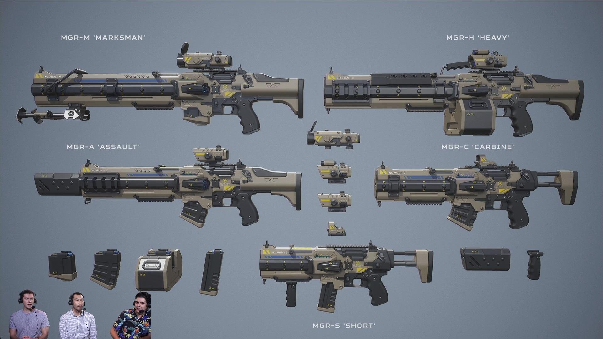 Будущие модели оружия - PlanetSide 2 daybreak game studio, dbg, planetside2, ps2, оружие