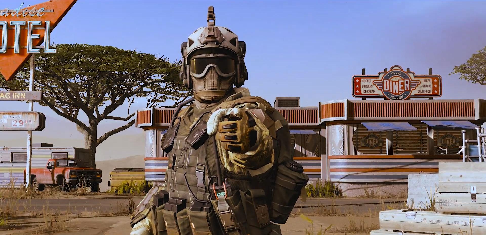 Warface - пустыня Мохаве (Королевская битва) - Warface Скриншот