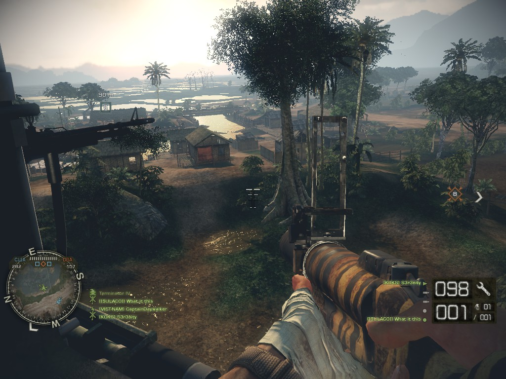 Высадка - Battlefield: Bad Company 2 Battlefield, UH-1, Vietnam
