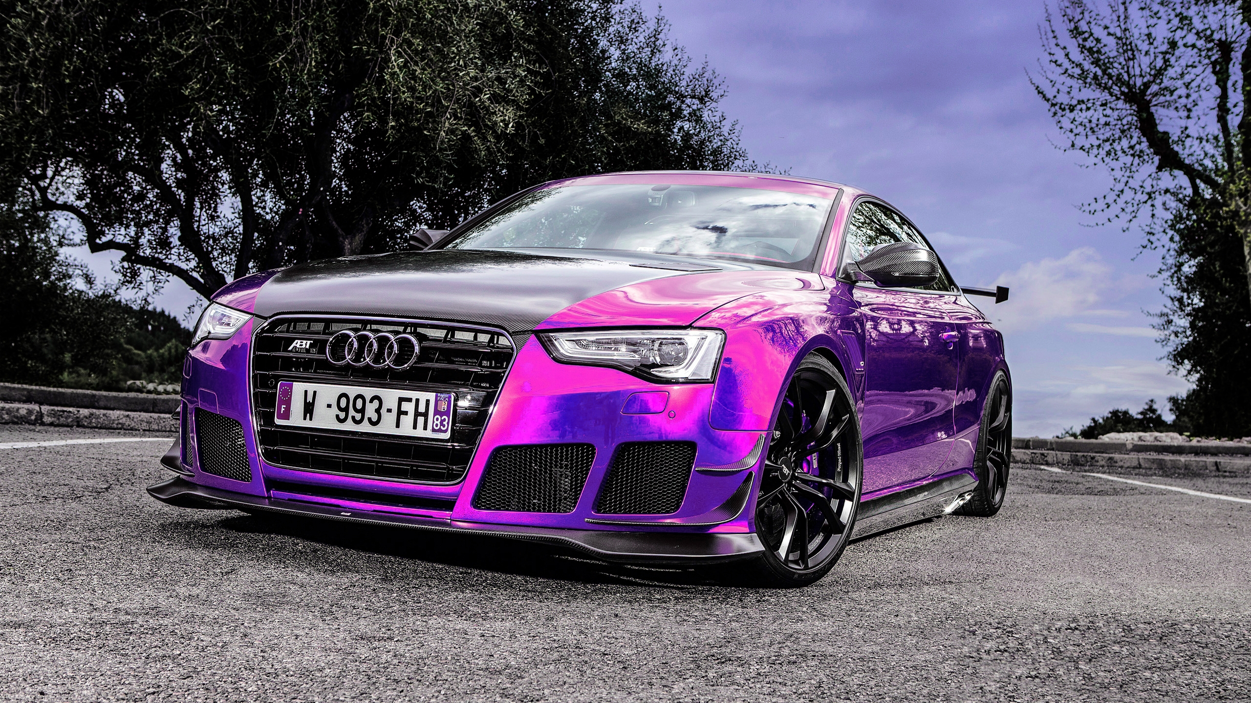 AUDI RS5-R Coupe ABT Sportsline Purpule - - AUDI RS5-R Coupe ABT Sportsline Purpule