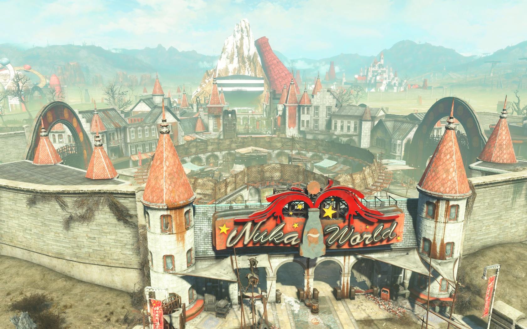 Вход в Ядер-Мир - Fallout 4 Nuka World, Ядер-Мир