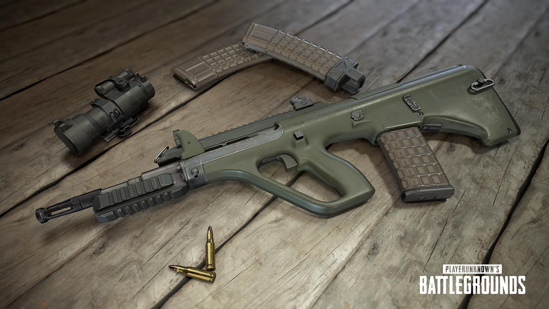 PlayerUnknown's Battlegrounds - PlayerUnknown's Battlegrounds Арт, Оружие