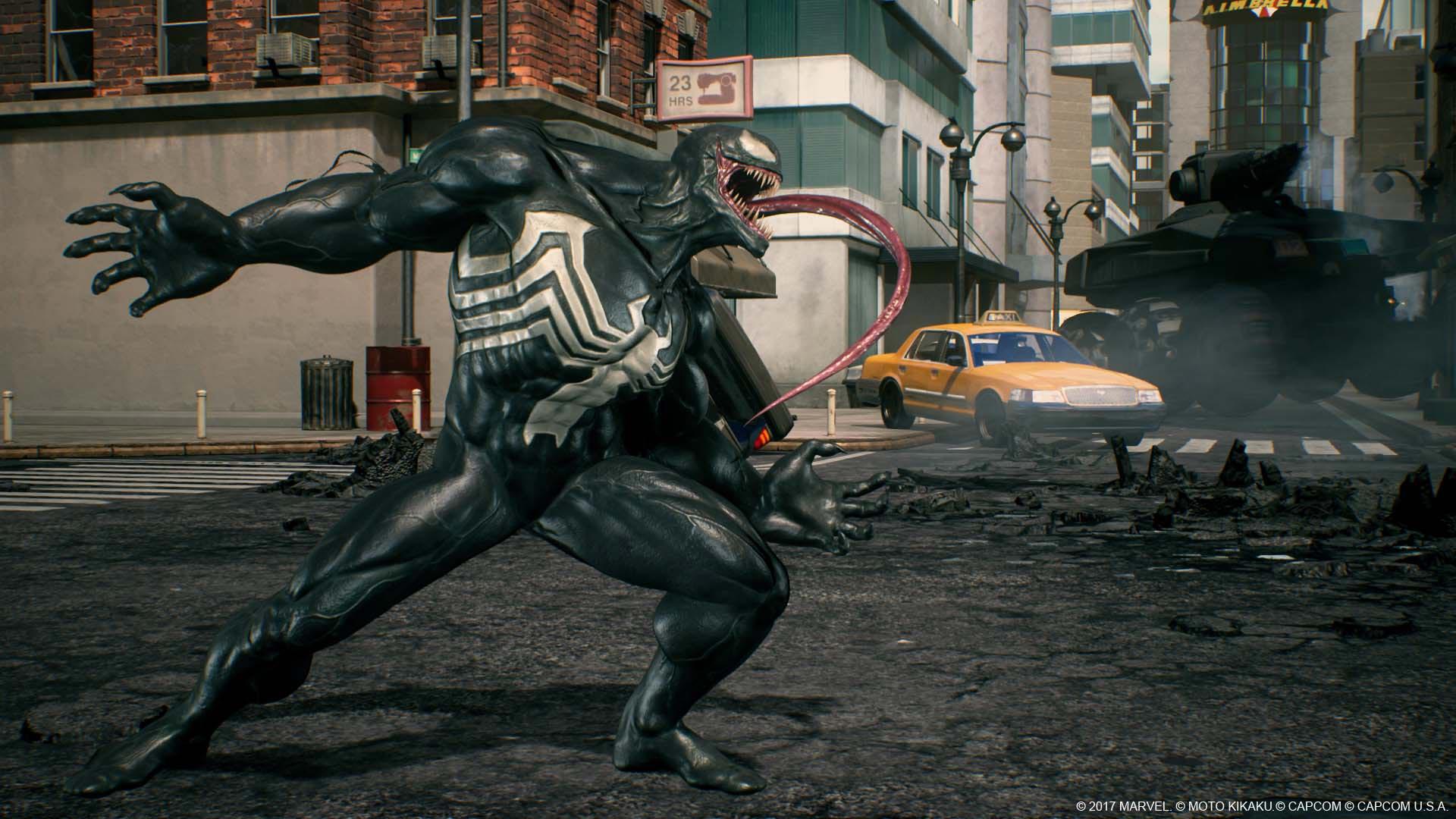 Веном - Marvel vs. Capcom: Infinite Eddie Brock, Venom, Скриншот, Эдди Брок