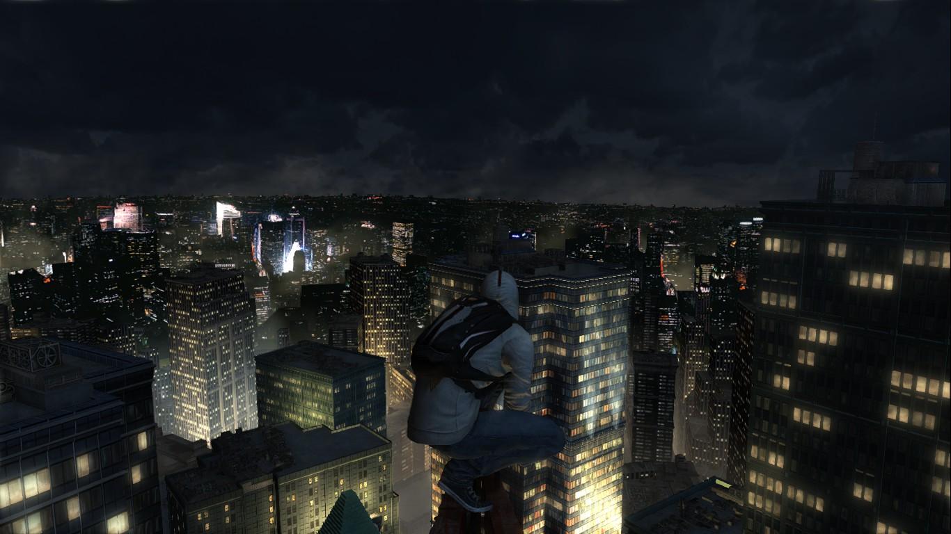 На небоскребе. - Assassin's Creed 3 Дезмонд