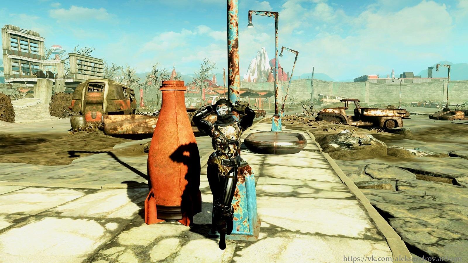 Новая хозяйка Нука-Мира ... - Fallout 4 Нука-Мир