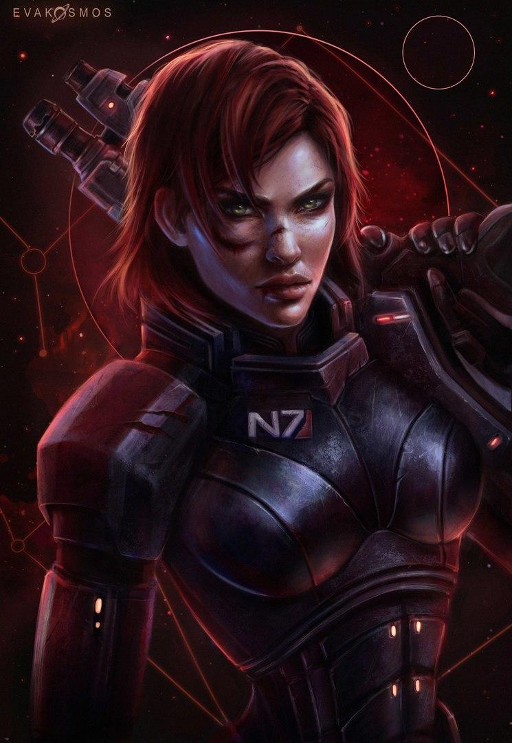 110c--7NRe8.jpg - Mass Effect 3 Shepard Fem, Арт