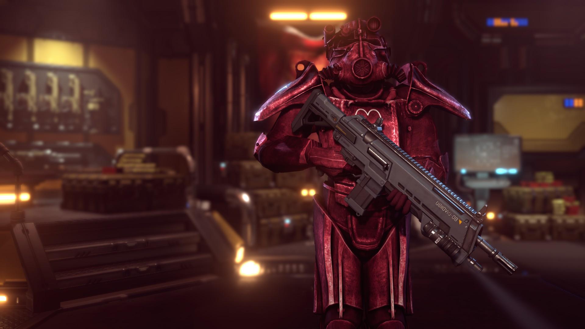 Fallout Power Armors Pack V2 - XCOM 2 Мод