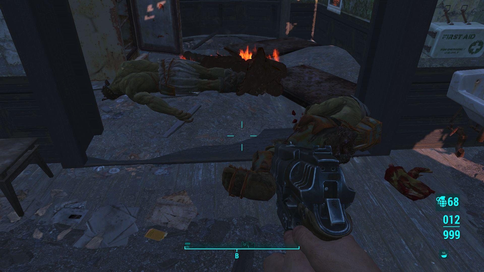 Жареные супермутанты. - Fallout 4