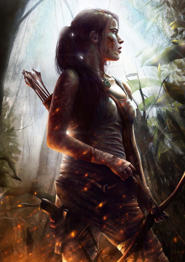 lara_croft_by_joshsummana-d5wz4as.jpg - Tomb Raider (2013)
