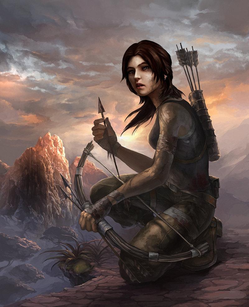 lara_by_zeeksie-d5y05h6.jpg - Tomb Raider (2013)