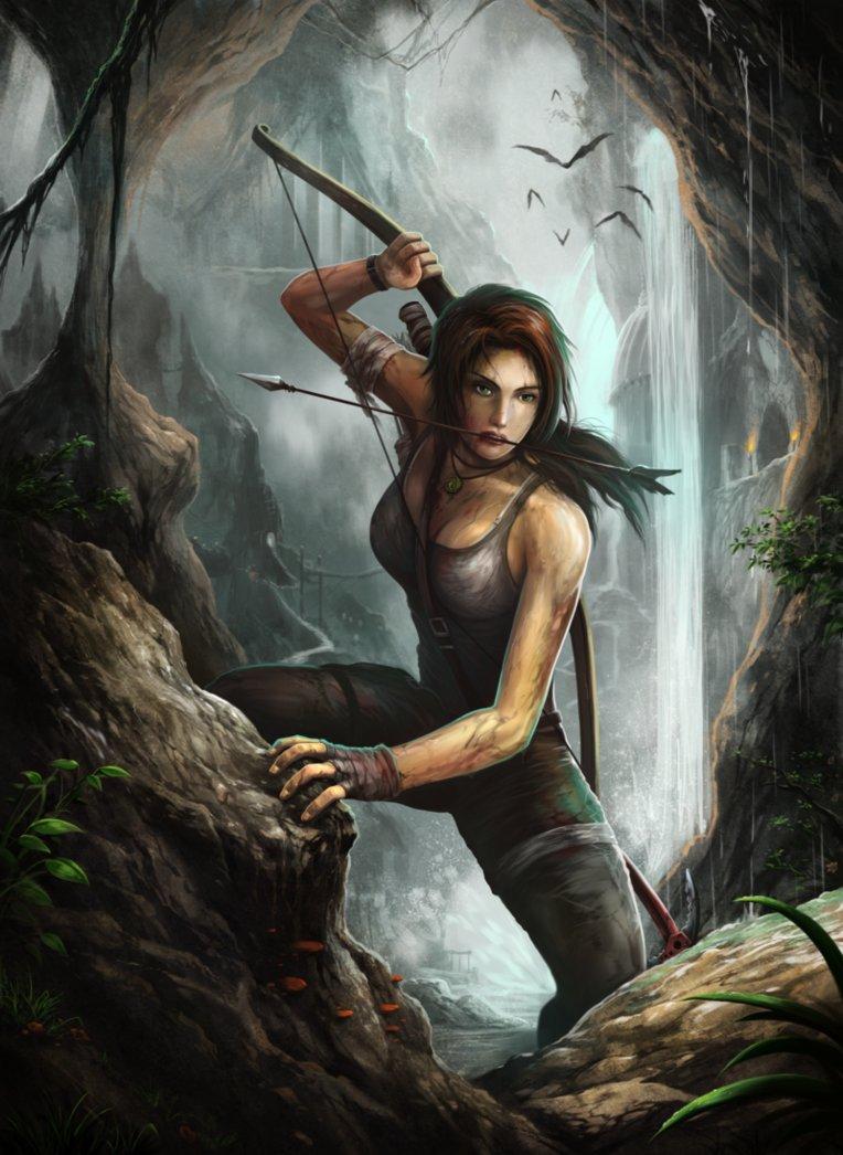 lara_croft_by_serathus-d5xt02z.png - Tomb Raider (2013)