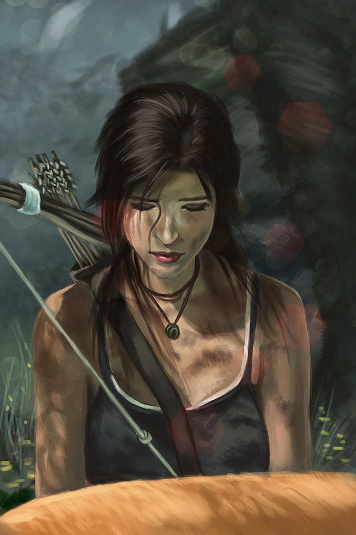 lara_croft_by_eeddey-d6nmtac.jpg - Tomb Raider (2013)