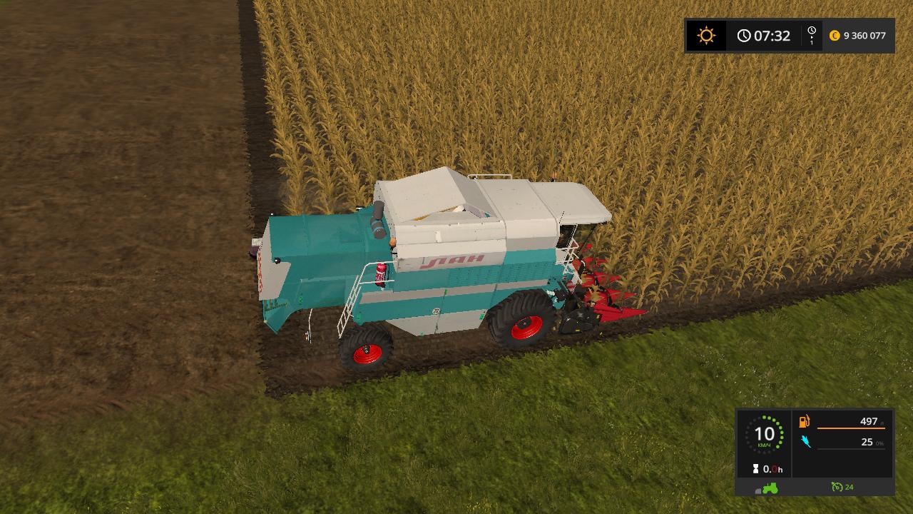 Лан - Farming Simulator 17 Мод