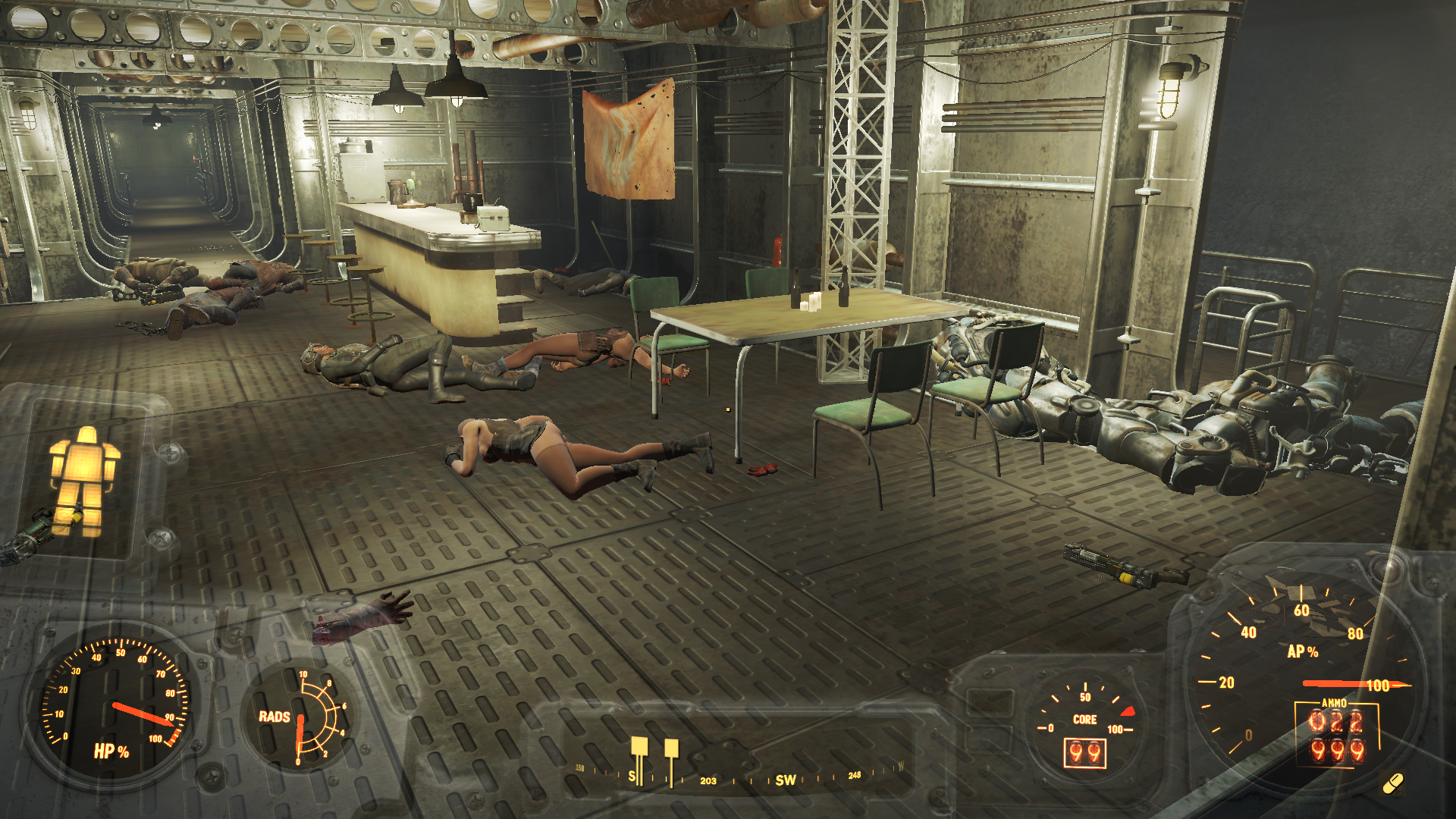 Неудачно чихнул - Fallout 4 Придвен, братство стали, сюжет за подземку