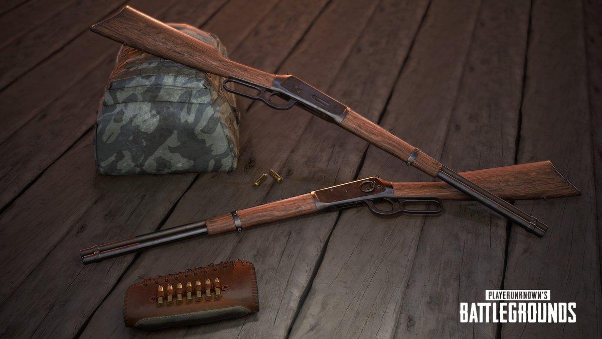 PlayerUnknown's Battlegrounds - Winchester Model 1894 - PlayerUnknown's Battlegrounds Арт