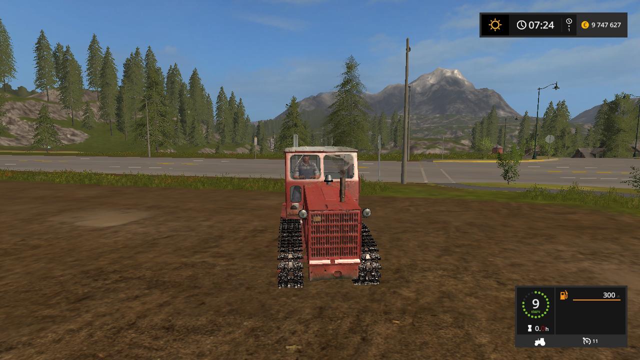 гусянка - Farming Simulator 17 гусянка, Мод, Транспорт