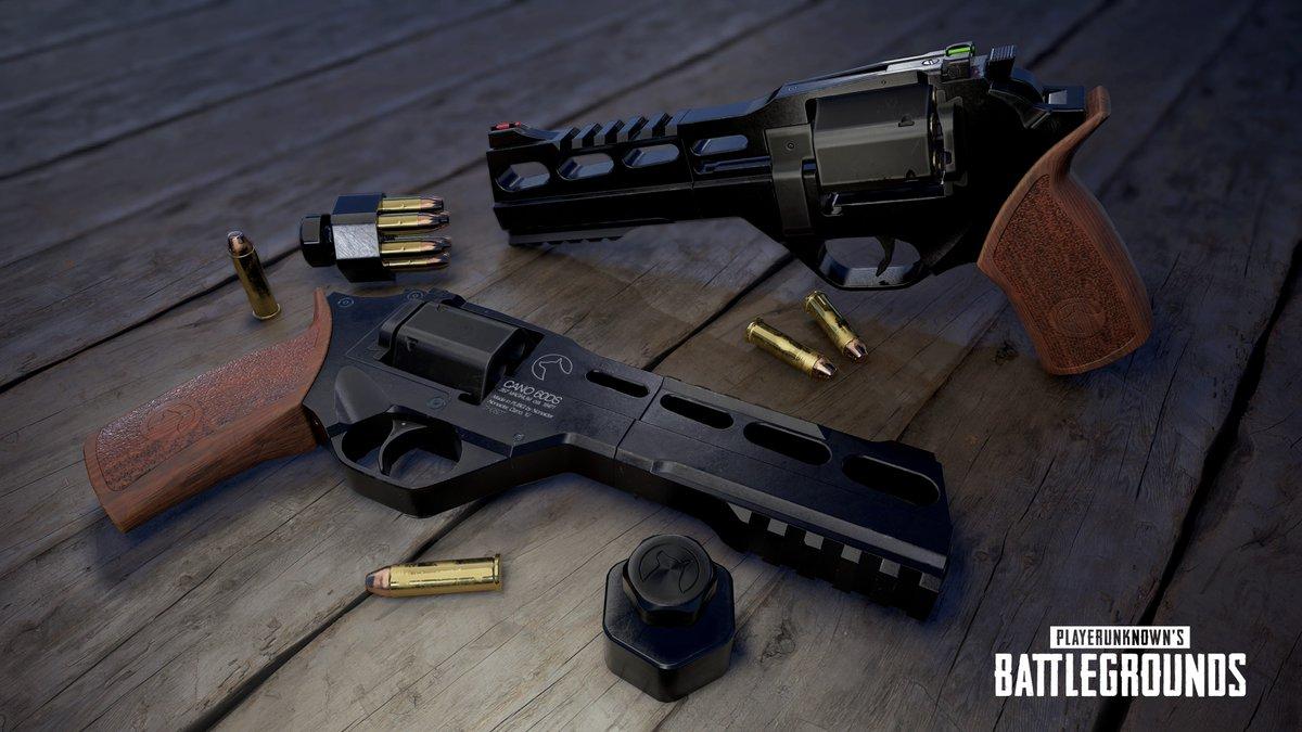 PlayerUnknown's Battlegrounds - R45 Revolver - PlayerUnknown's Battlegrounds Арт, Оружие