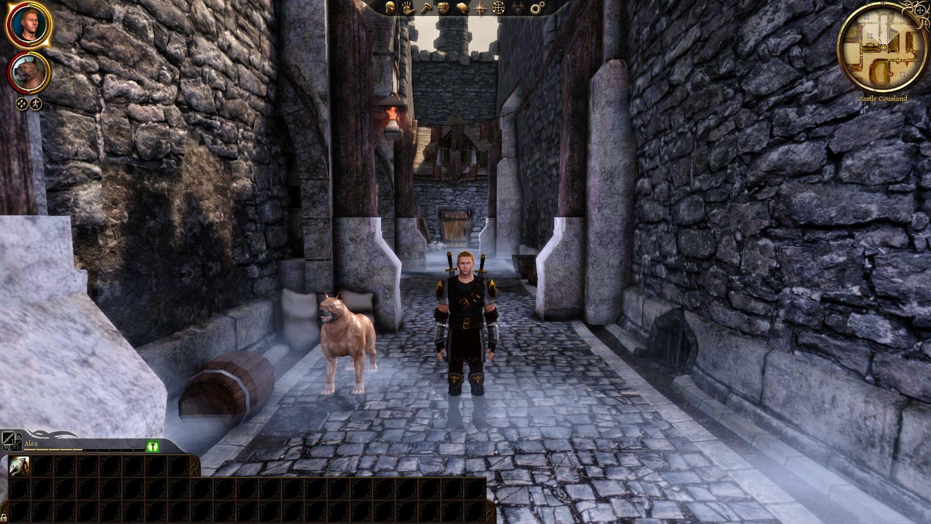 Я с Мухтаром.... - Dragon Age: Origins