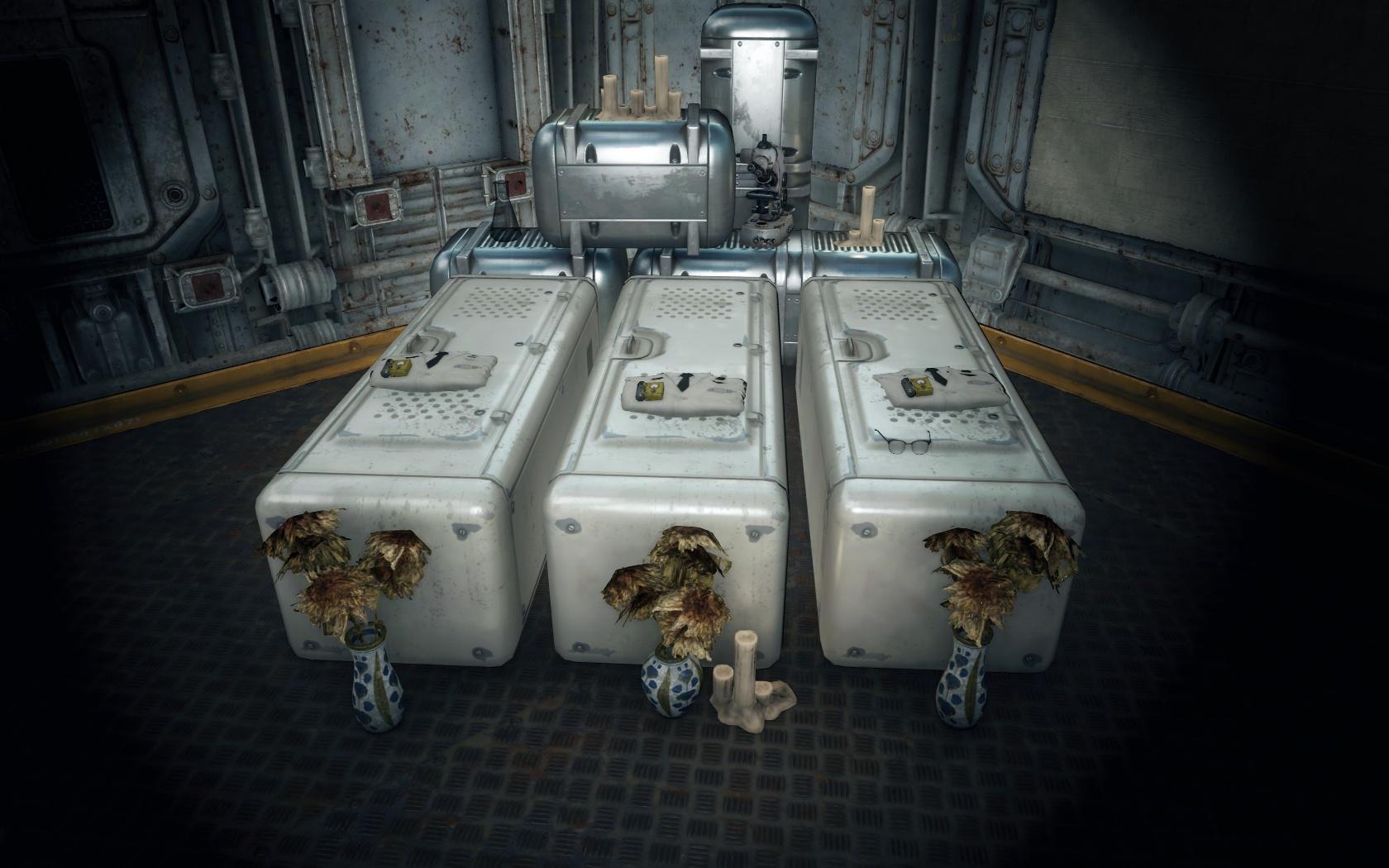Братская могила (Убежище 81) - Fallout 4 могила, Убежище
