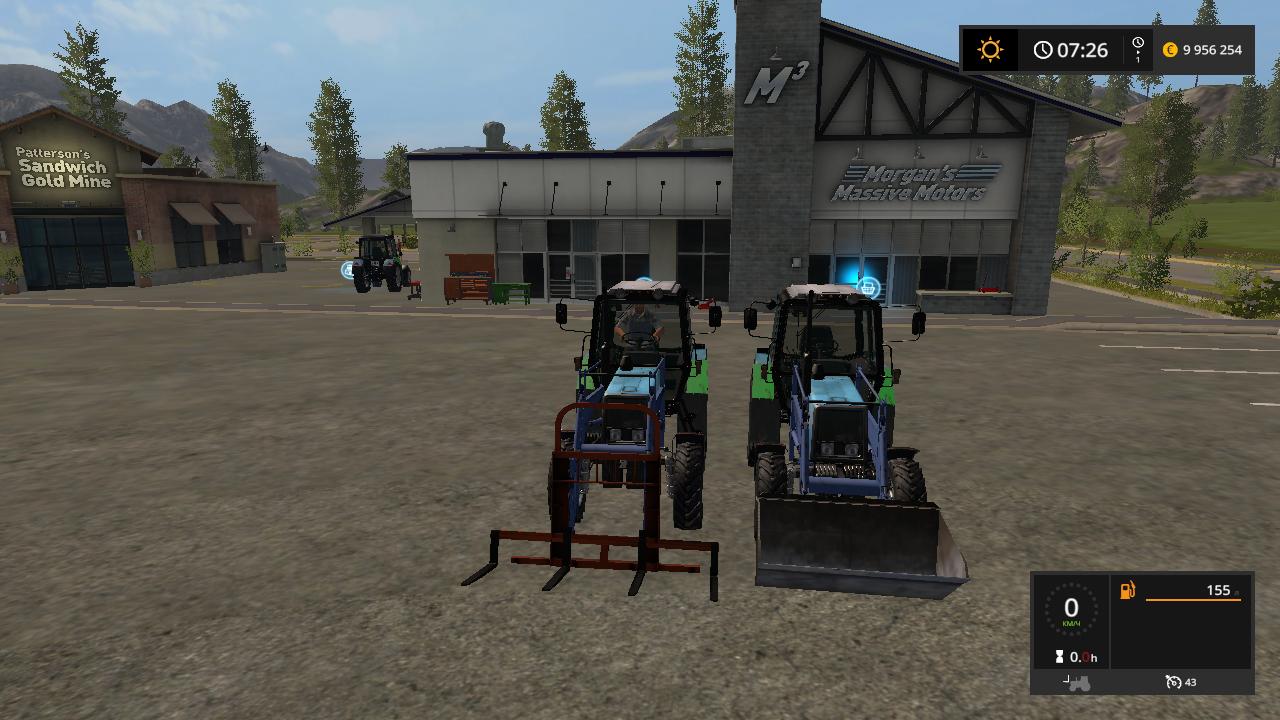 МТЗ 952 - Farming Simulator 17 Моды, погрузчик, Транспорт